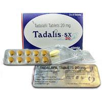 Tadalis 20mg tablets