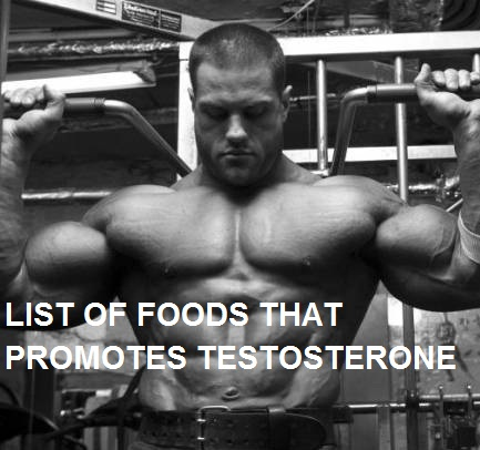 FOODS THAT PROMOTES TESTOSTERONE